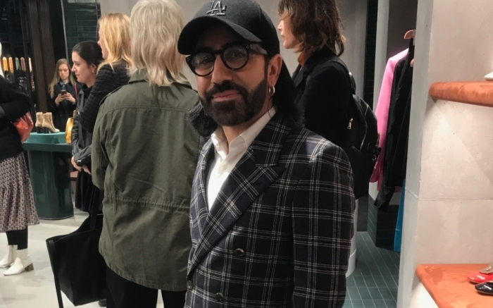 Mulberry Creative Director Johnny Coca