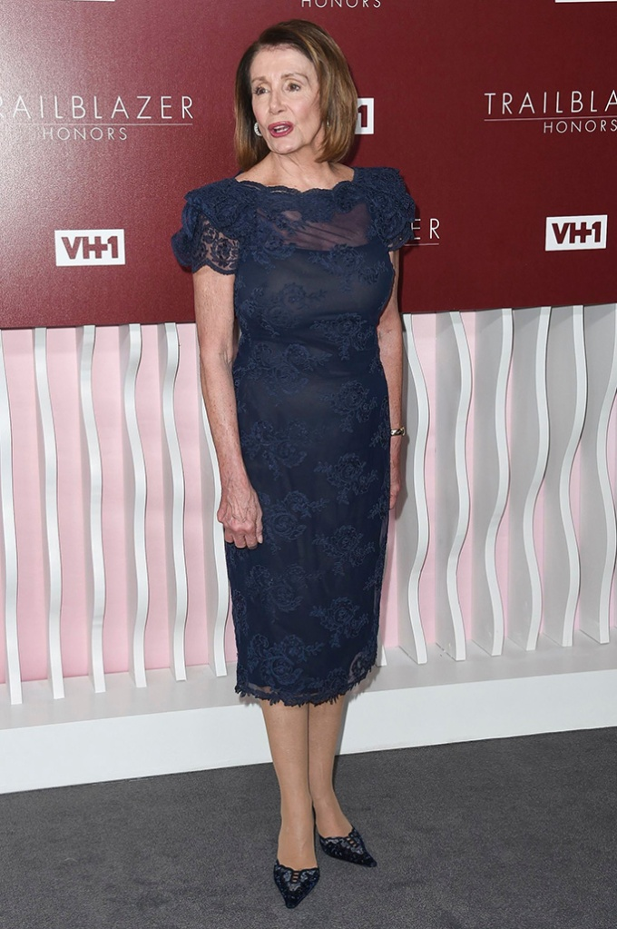 Speaker of the United States House of Representatives Nancy Pelosi attends VH1 Trailblazer Honors 2019 at the Wilshire Ebell Theatre, in Los AngelesVH1 Trailblazer Honors 2019, Los Angeles, USA - 20 Feb 2019