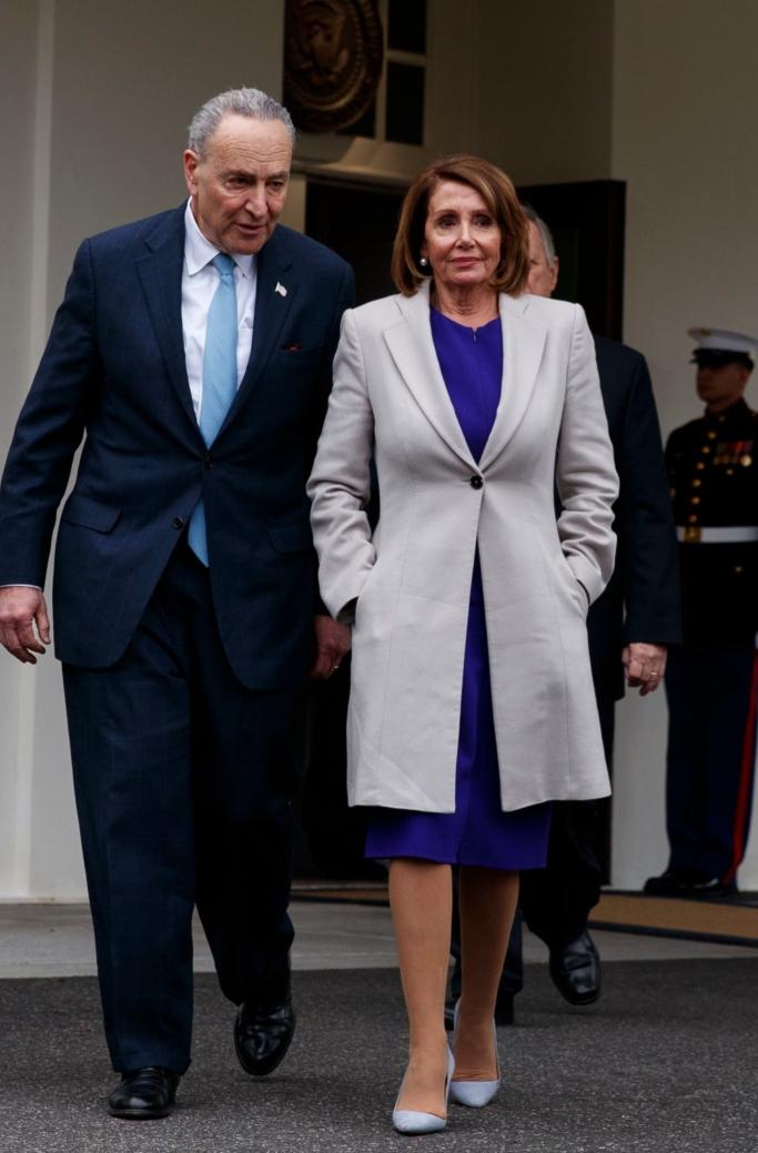 Nancy Pelosi S Power Pumps What She S Wearing So Far Photos Footwear News