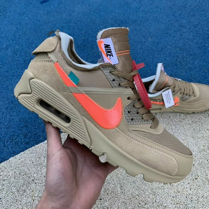 Off-White x Nike Air Max 90 Sneakers