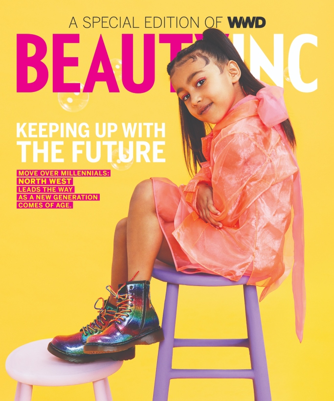 north west, wwd beauty inc. cover, dr martens