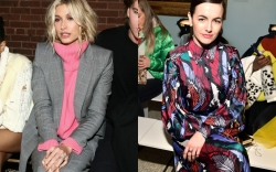 new york fashion week front row