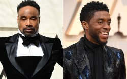 Billy Porter and Chadwick Boseman, 2019