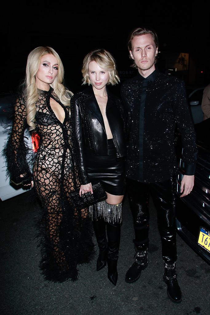 Paris Hilton and Tessa HiltonPhilipp Plein show, Arrivals, Fall Winter 2019, New York Fashion Week, USA - 12 Feb 2019