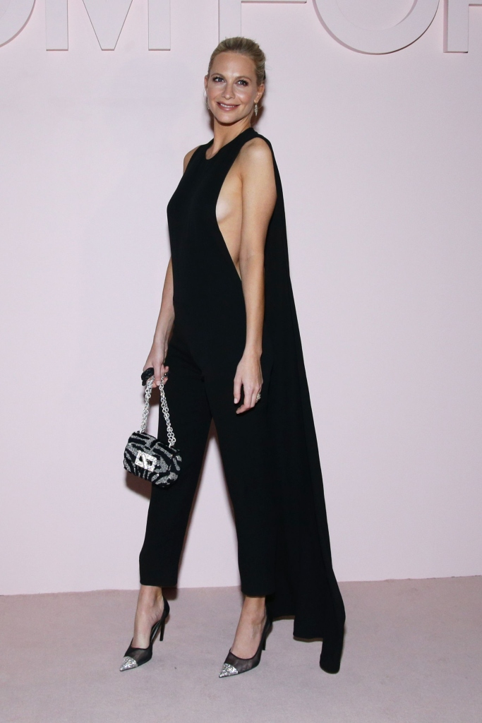 Poppy Delevingne, tom ford fall 2019, new york fashion week