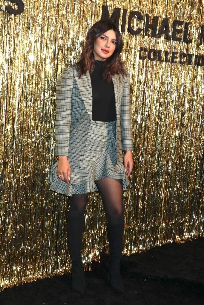 priayanka chopra, michael kors fall 2019 show, new york fashion week