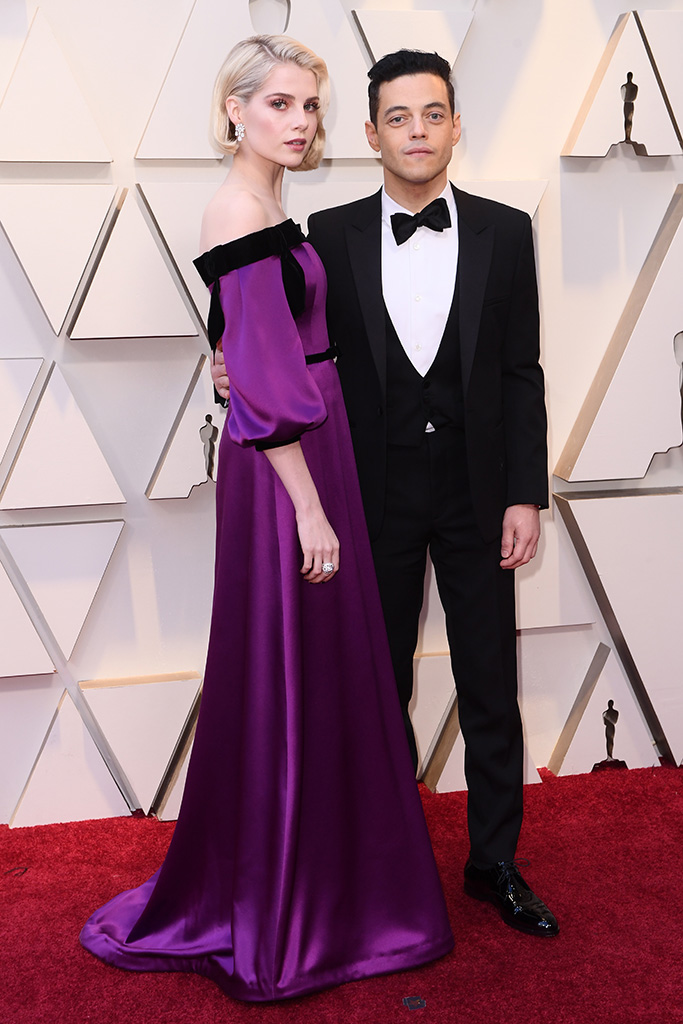 Rami Malek and Lucy Boynton91st Annual Academy Awards, Arrivals, Los Angeles, USA - 24 Feb 2019