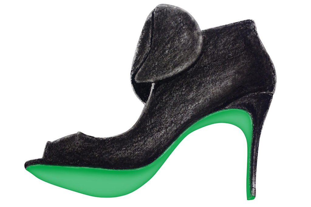 Reginald Bendolph shoe