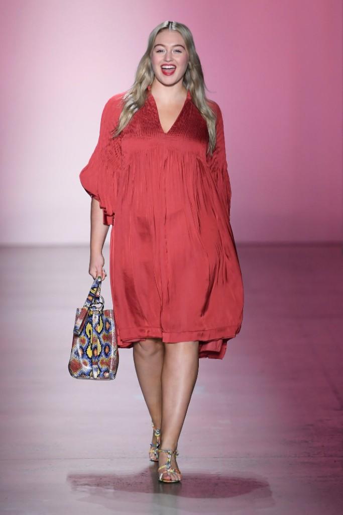 Iskra Lawrence, rebecca minkoff, fall 2019, runway