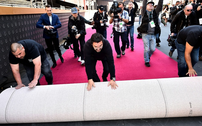 Oscars red carpet roll outOscars red carpet roll out, Los Angeles, USA - 28 Feb 2018