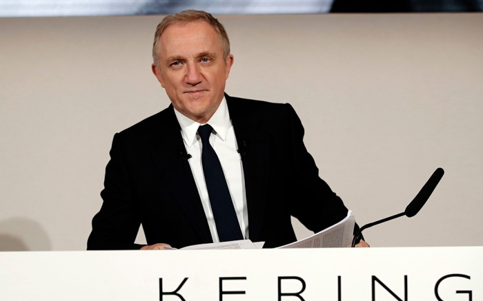 Francois-Henri Pinault, CEO of luxury group Kering arrives for the presentation of the company's 2018 full year results in ParisEarns Kering, Paris, France - 12 Feb 2019