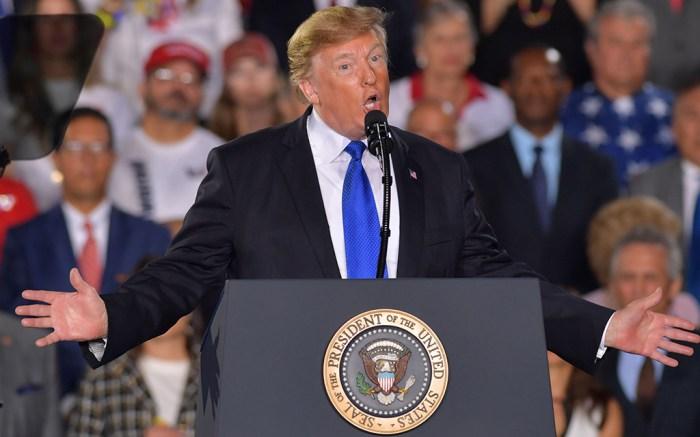 Donald TrumpDonald Trump rally, Miami, USA - 18 Feb 2019