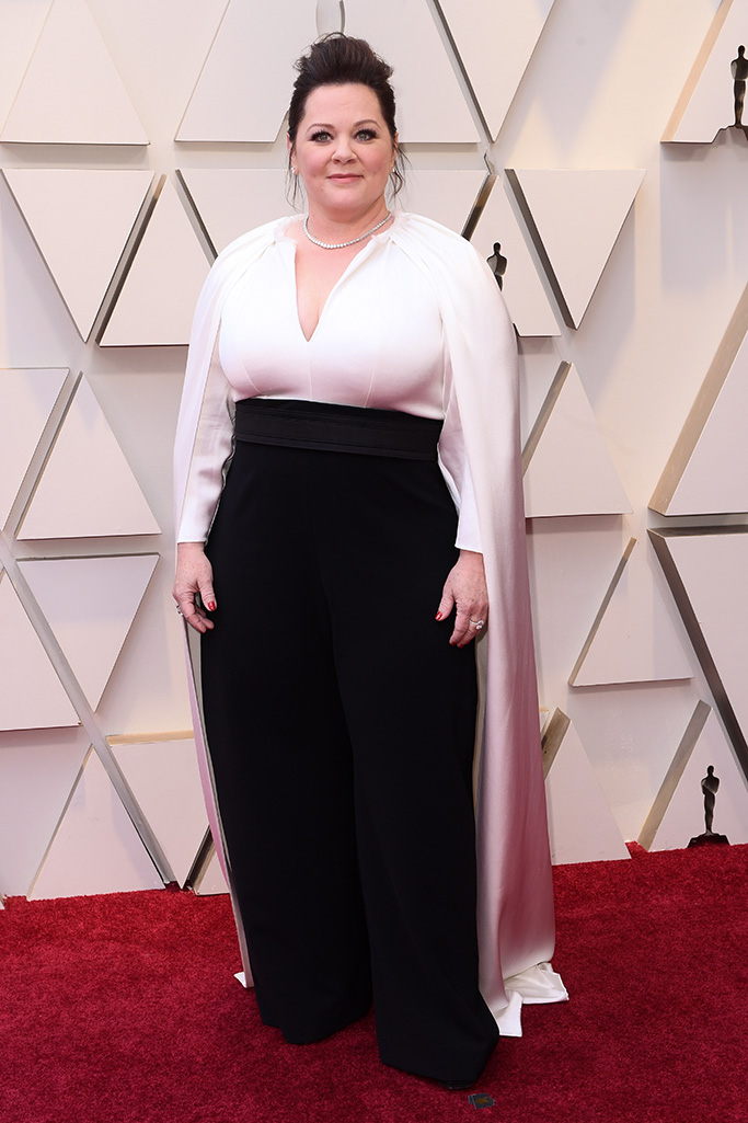 Melissa McCarthy 91st Annual Academy Awards, Arrivals, Los Angeles, USA - 24 Feb 2019Wearing Brandon Maxwell