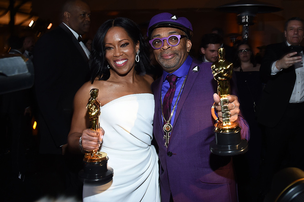Regina King and Spike Lee91st Annual Academy Awards, Governors Ball, Los Angeles, USA - 24 Feb 2019