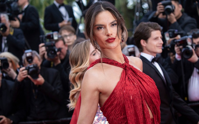 Alessandra Ambrosio poses for photographers upon arrival at the premiere of the film 'Les Miserables' at the 72nd international film festival, Cannes, southern France2019 Les Miserables Red Carpet, Cannes, France - 15 May 2019