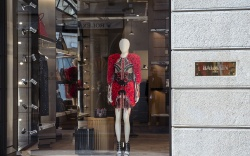 Atmosphere The Balmain Flagship Store, Milan,