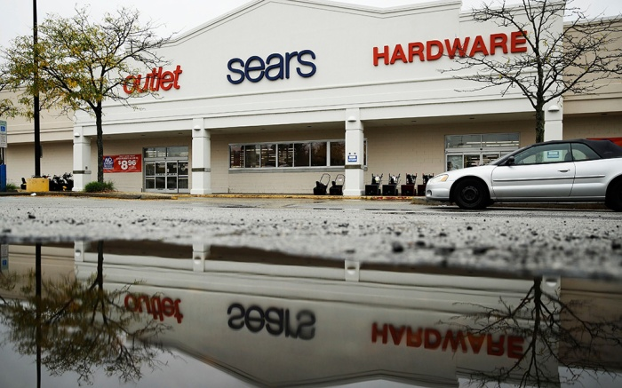 A Sears department store is shown in Norristown, Pa., . Sears filed for Chapter 11 bankruptcy protection Monday, buckling under its massive debt load and staggering lossesSears Chapter 11, Norristown, USA - 15 Oct 2018