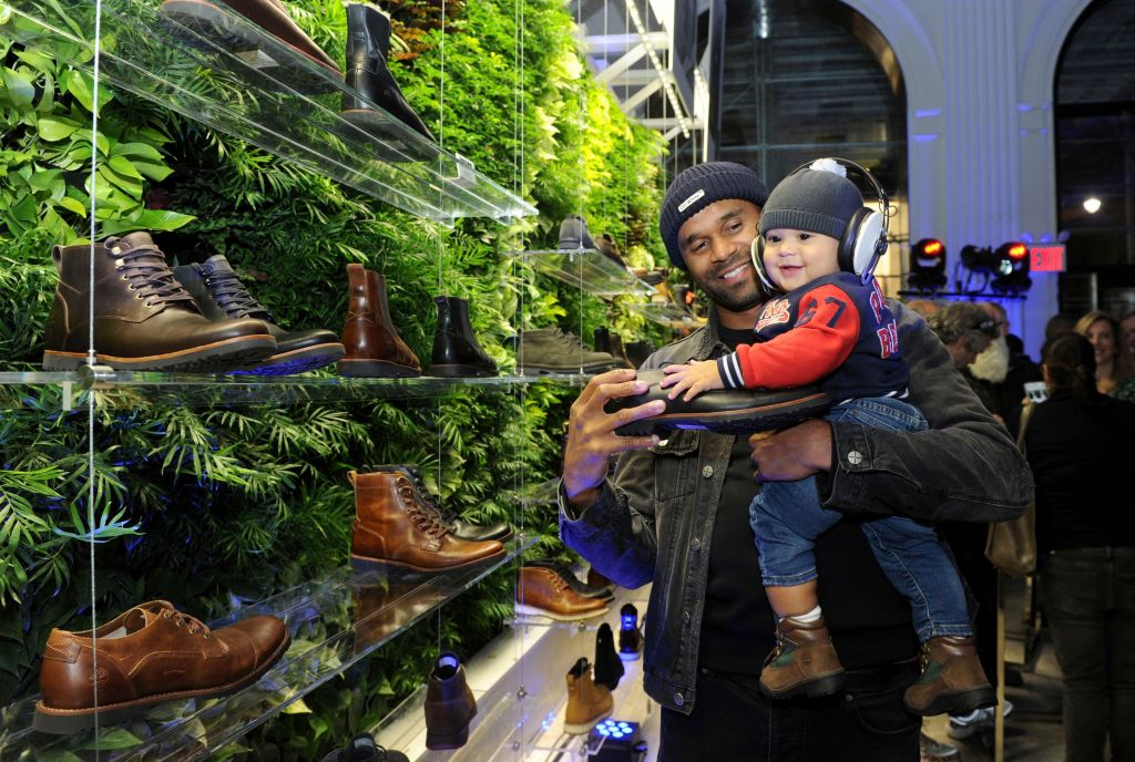 Timberland's Fifth Avenue pop-up store, in New York. The store celebrates Timberland's outdoor heritage and is open through January 2019Timberland 5th Avenue Store Opening Party in New York in 2018 emphasized their outdoor environmental heritage