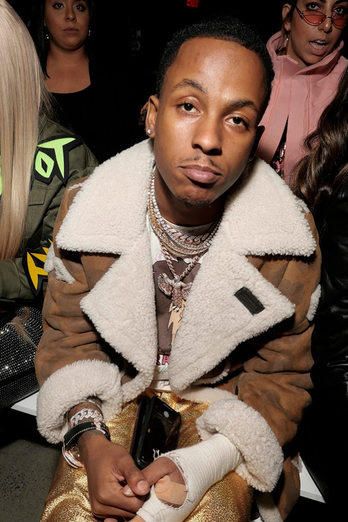 Rich The Kid in the front rowJeremy Scott show, Front Row, Fall Winter 2019, New York Fashion Week, USA - 08 Feb 2019