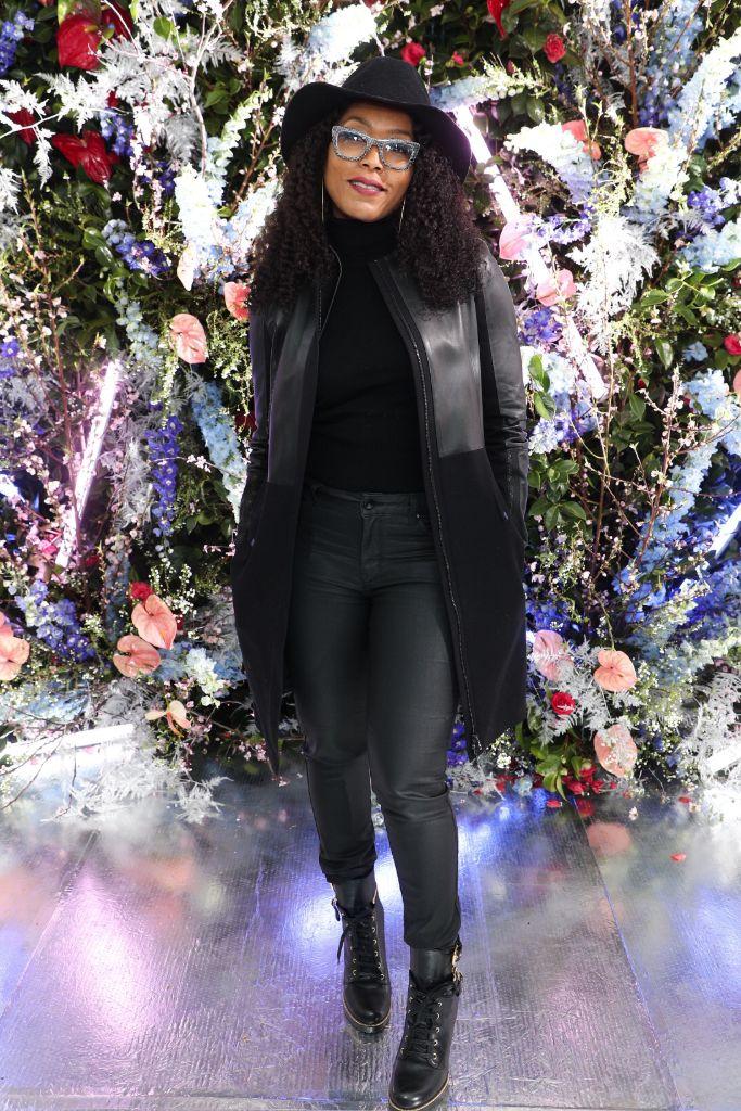 angela bassett, rodarte fall 2019 show front row