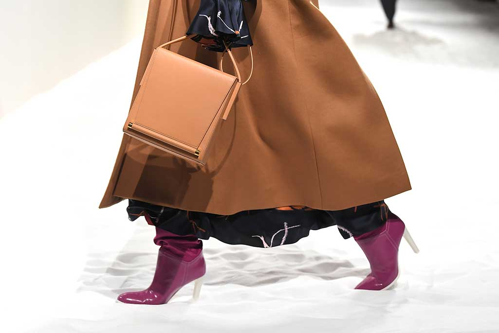 Roksanda x Malone Souliers, London Fashion Week, fall '19.