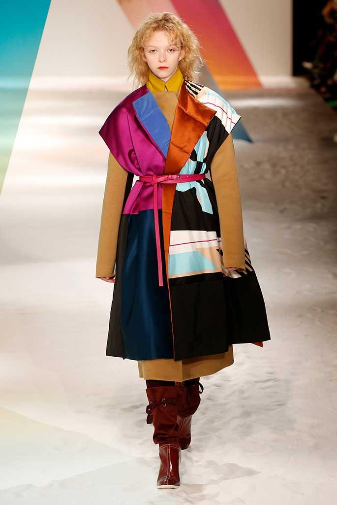 Roksanda x Malone Souliers, London Fashion Week, fall '19.