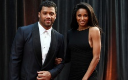 Russell Wilson, Ciara. Russell Wilson, of