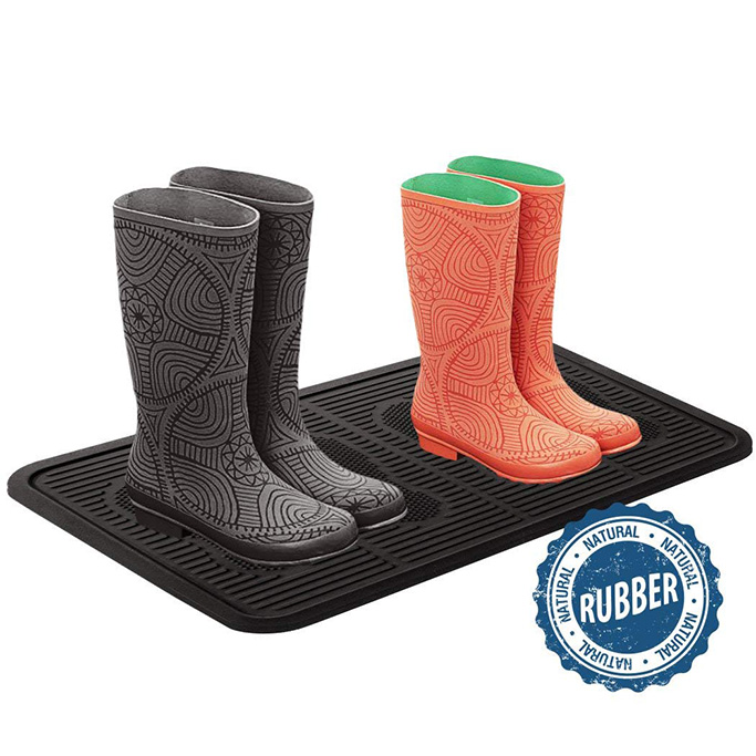 SafetyCare Heavy Duty Flexible Rubber Boot Tray