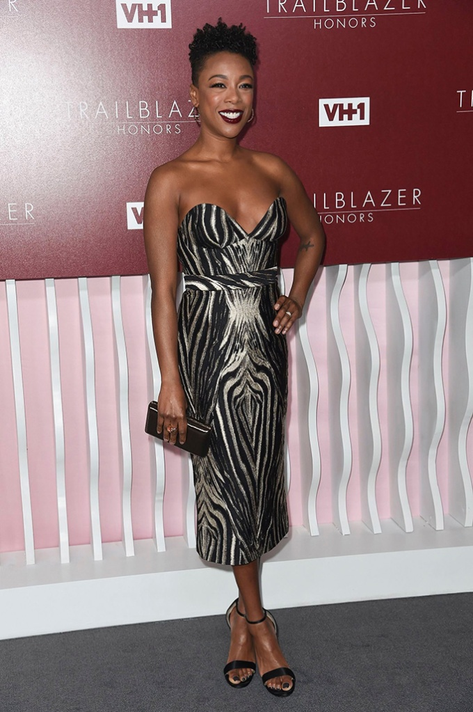 Samira Wiley attends VH1 Trailblazer Honors 2019 at the Wilshire Ebell Theatre, in Los AngelesVH1 Trailblazer Honors 2019, Los Angeles, USA - 20 Feb 2019