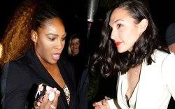 Serena Williams, Gal Gadot, WME Oscars