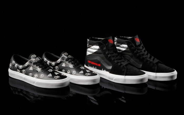Vans x Led Zeppelin collection
