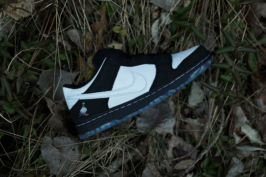 "Staple x Nike Dunk SB Low ""Panda Pigeon"""