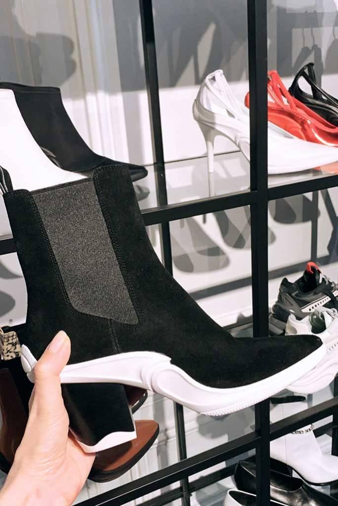 Stella Luna fall '19 boot, Paris Fashion Week.