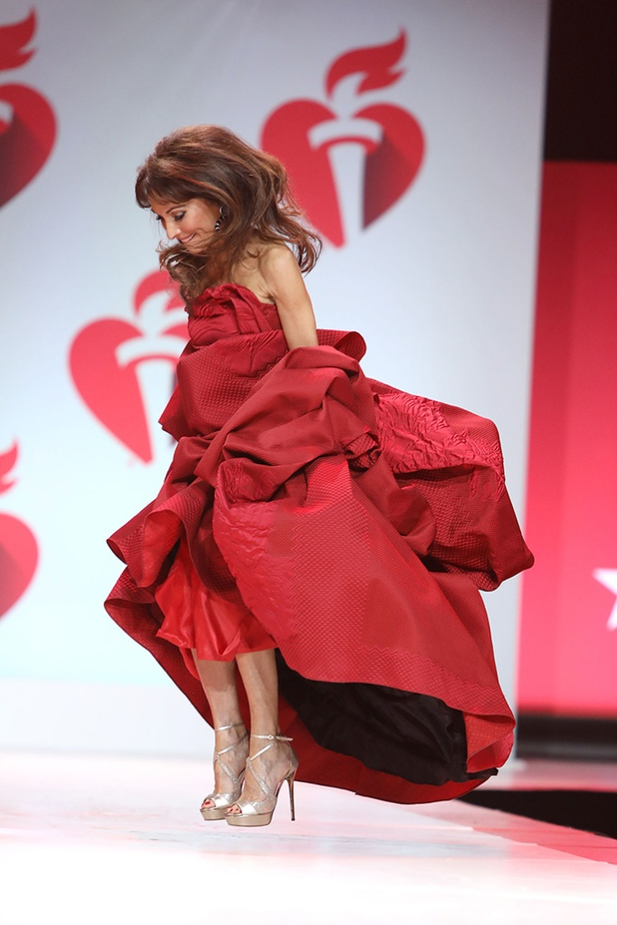 Susan Lucci on the catwalk115th Annual Heart Truth Go Red for Women Red Dress Collection 2019 - Runway, New York, USA - 07 Feb 2019
