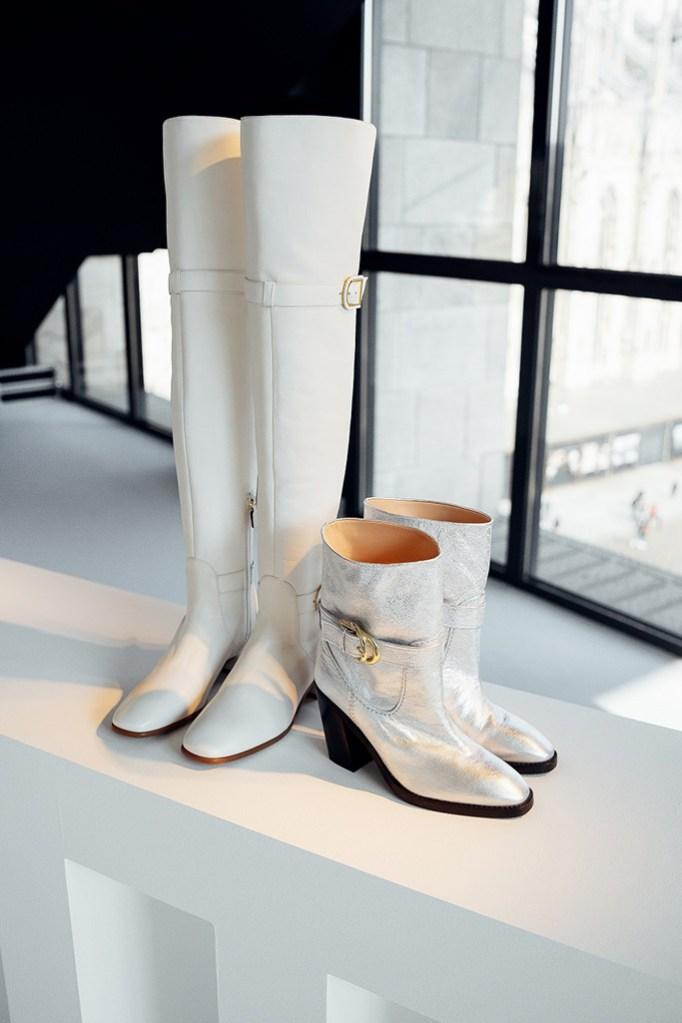 fall 2019, stuart weitzman, milan fashion week, boots