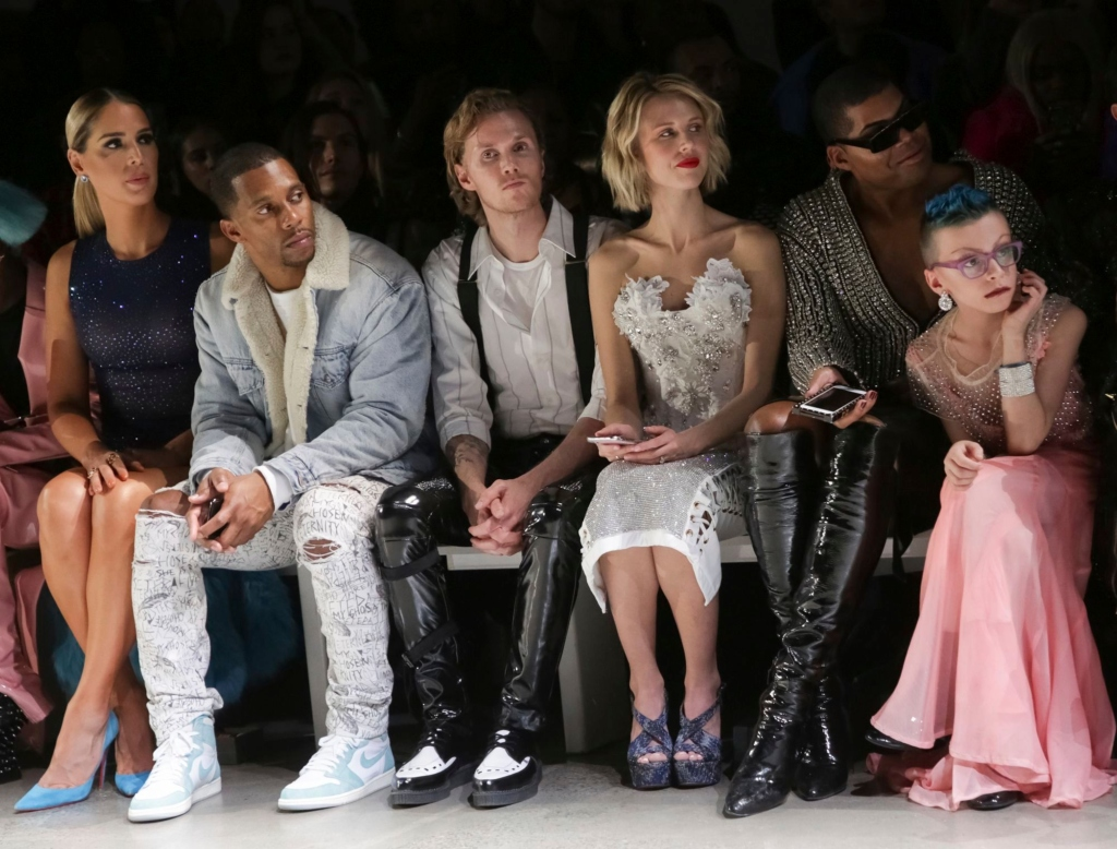 the blonds front row