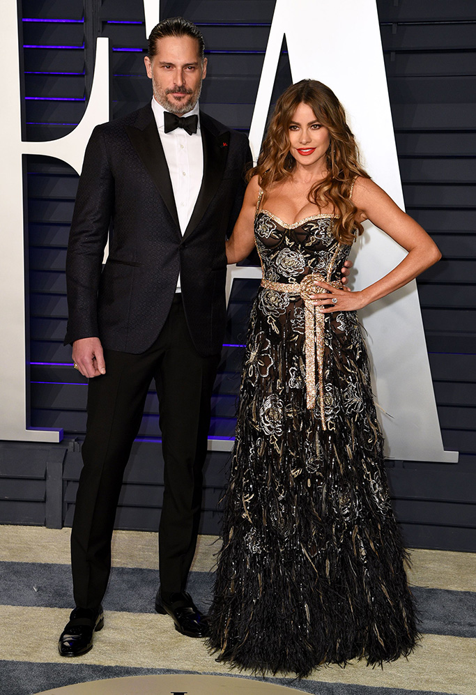 Joe Manganiello and Sofia VergaraVanity Fair Oscar Party, Arrivals, Los Angeles, USA - 24 Feb 2019