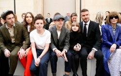 Brooklyn Beckham, Hana Cross, Cruz Beckham,
