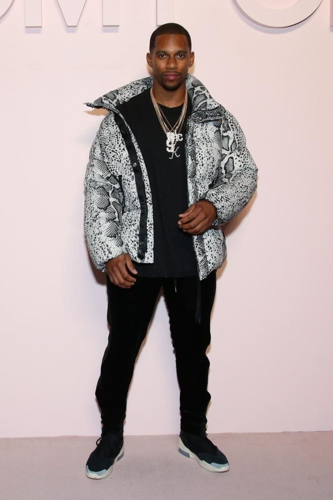victor cruz, tom ford fall 2019, new york fashion week