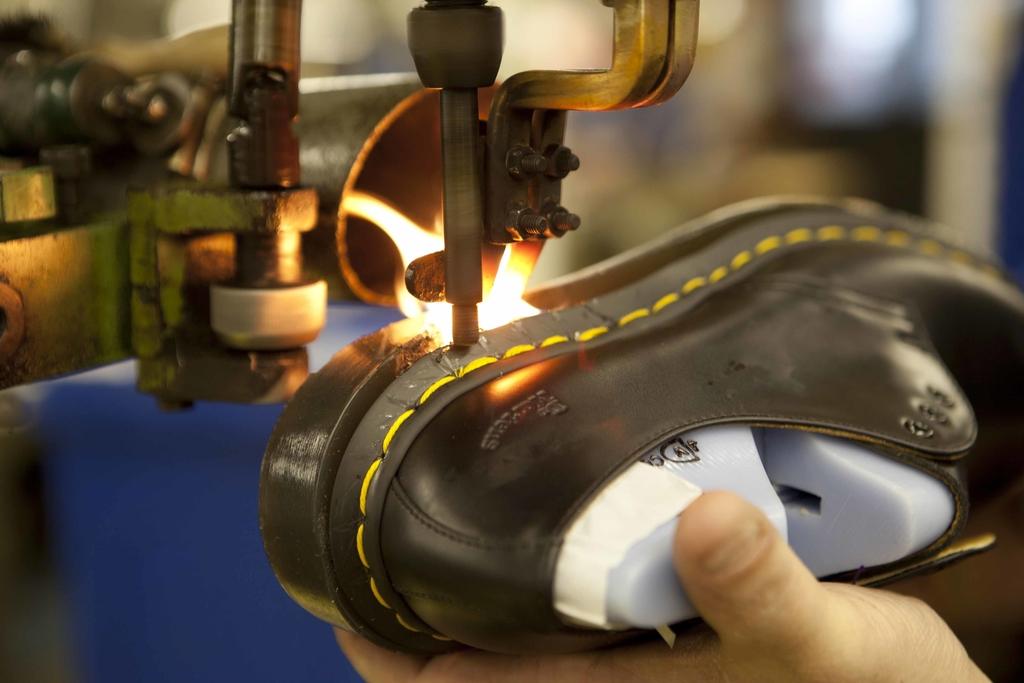 Dr. Martens shoe facctory