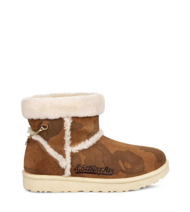 Ugg x Bape boot