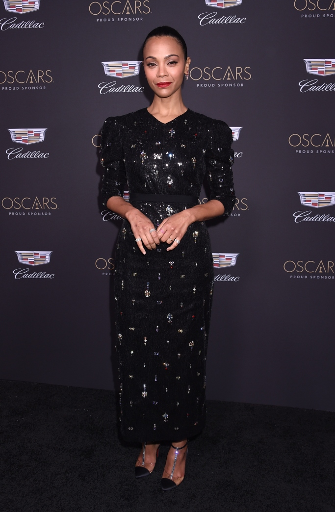 Zoe Saldana, 2019 Cadillac Oscar Party