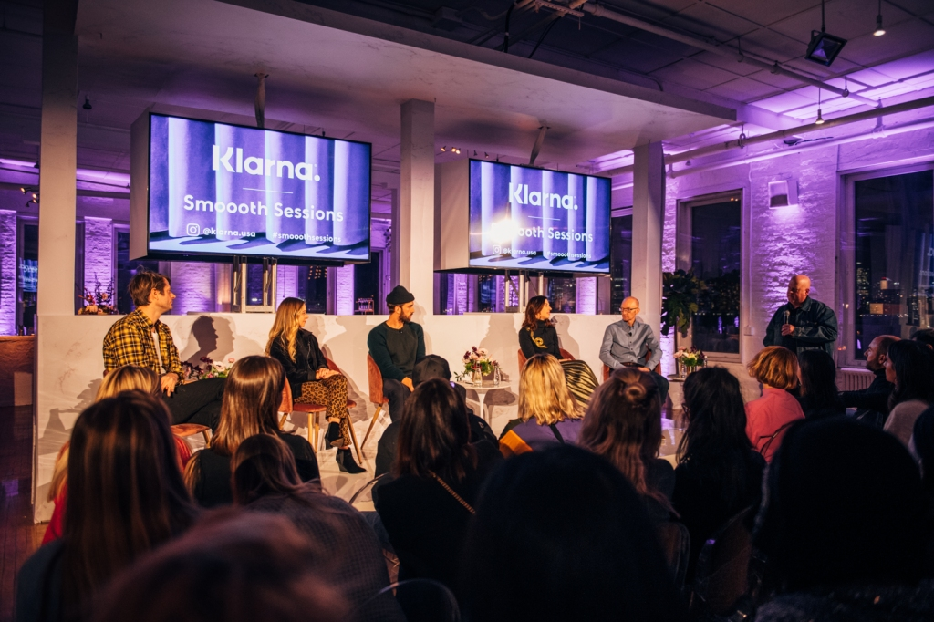 Klarna's Smoooth Sessions help explain the value of the product to the industry through discussion
