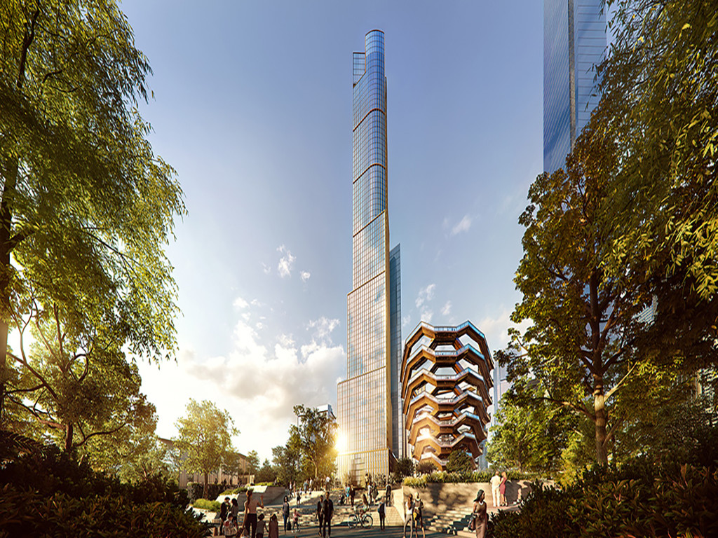35 Hudson Yards and the Vessel