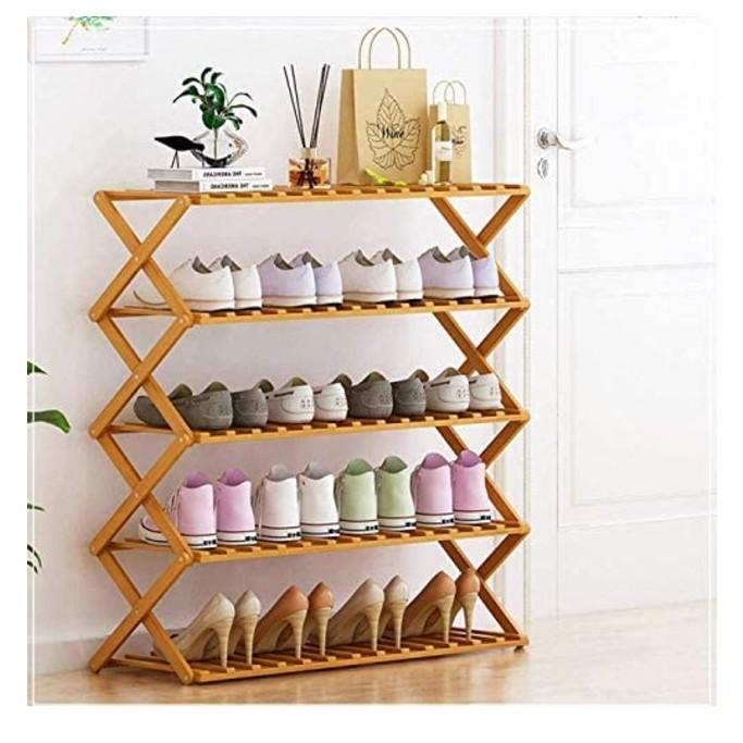 Eco Anni 5-Tier Shoe Rack, shoe shelves