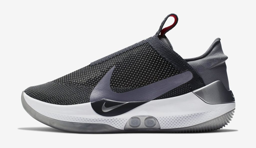 Nike Adapt BB 'Dark Gray' Lateral