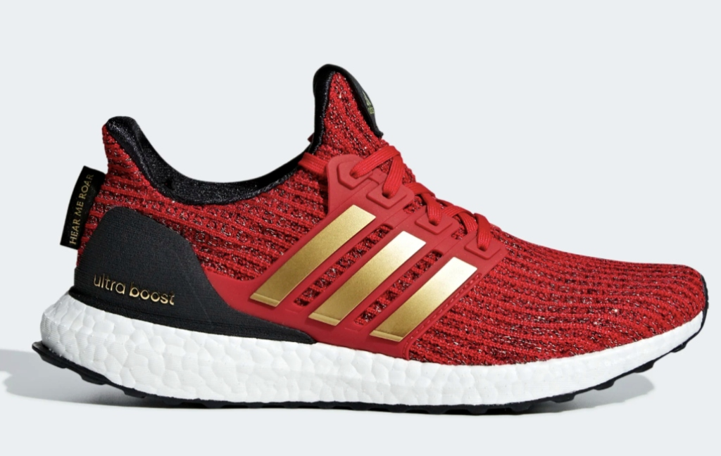 Adidas x Game of Thrones House of Lannister Ultraboost sneakers