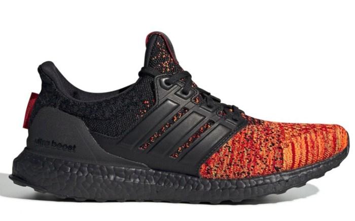 Adidas x Game of Thrones House Targaryen Ultra Boost sneakers