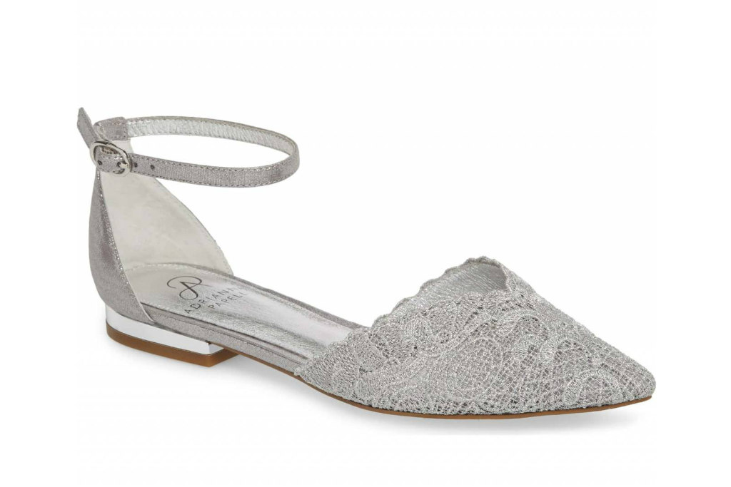 adrianna papell, prom shoes