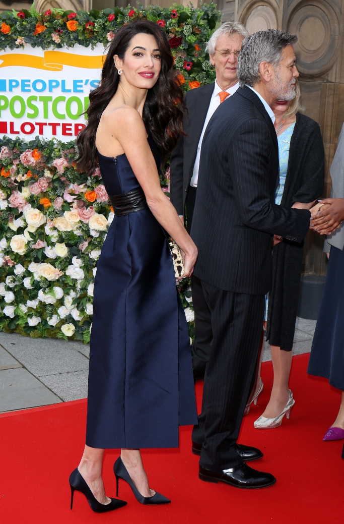amal clooney, christian louboutin, george clooney